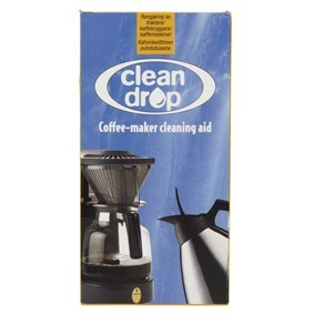 Clean drop coffee maker cleaner for Moccamaster spray arm