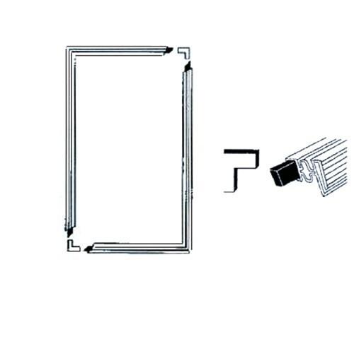 Jääkaapin Pakastimen Oven tiiviste magneetilla (1300mm X 700mm)  SPARESTORE co