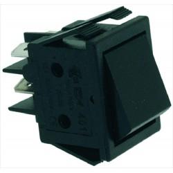 Kytkin 16A 250V, musta