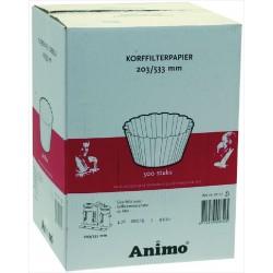 Filter paper ø 203/533 mm 500 KPL