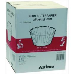 Filter paper ø 280/635 mm 500 KPL