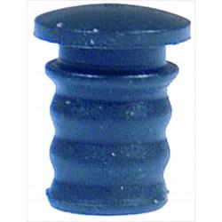 Glass tupe cap