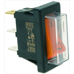 ORANGE SINGLE-POLE SWITCH 250V