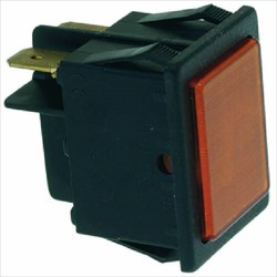 ORANGE INDICATOR LIGHT 24V