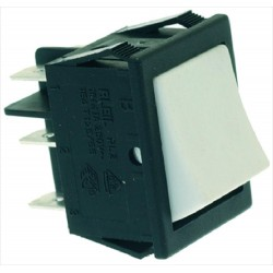 CHANGEOVER SWITCH 2 POLE WHITE 16A 250V