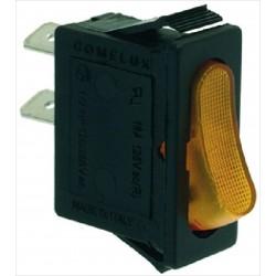 Switch, orange 16A 250V...