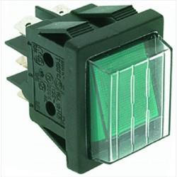 Valintakytkin 16A 250V, vihreä