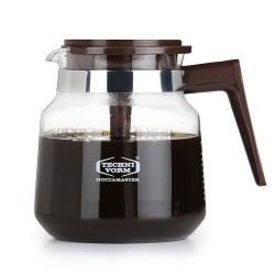 Moccamaster Glass Jug 1,25 l Brown (with aroma lid)