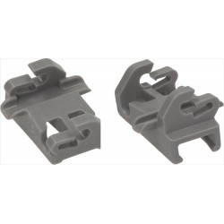 Clips for Bosch Siemens upper basket (00611474)