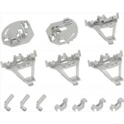 Liukuosat Bosch & Siemens tiskikoneiden astiakorille (00418675)