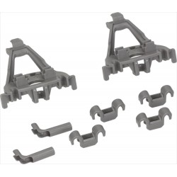 Kit for Bosch & Siemens dishwasher basket sliding (00428344)