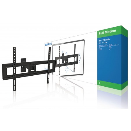 "TV Wall Mount Adjustable Fully Adjustable from 37 to 70 ""35 kg"