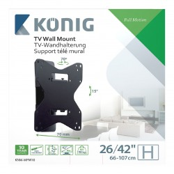 "TV Wall Mount Adjustable Fully Adjustable 26 to 42 ""40 kg"