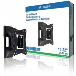"""TV väggmonterbar Justerbar helt inställbar 10 till 32 """"30 kg"""