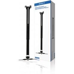 Projektori Kattoteline Täysin Säädettävä 10 kg Musta
