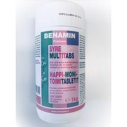 Happi & monitoimitabletit 1 kg (20 gr tabletti)
