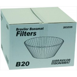 Bravilor Bonamat filter paper ø 203/535 mm 250 pcs
