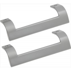 Handle for Beko fridge, silver, 250 mm (2 pc)
