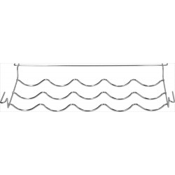 Beko door shelf, 496x284x60 mm