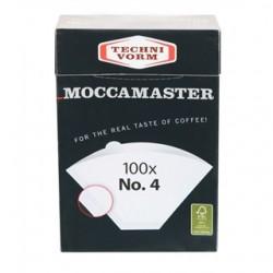 Moccamaster suodatinpaperi 100 x No 4