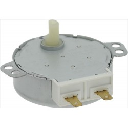 Microwave glass plate motor