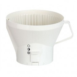 13195 Moccamaster filter holder, White