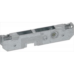 Roll holder for hinge