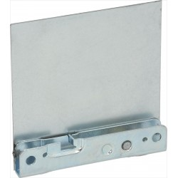 Roll holder for hinge, left