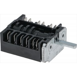 Selector switch, 0-6 positions