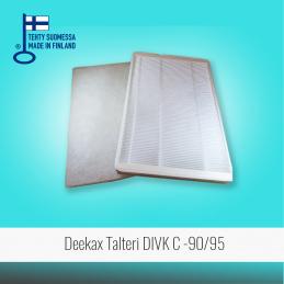 Filter set for DEEKAX...