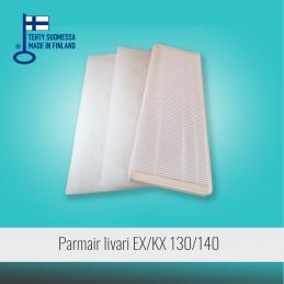 Filter set for PARMAIR...