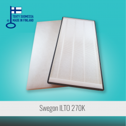 Filter set for SWEGON ILTO 270K ventilation unit