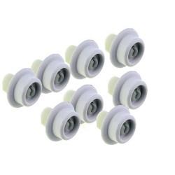 AEG/Electrolux/Zanussi Dishwasher lower basket wheel kit 50279059005