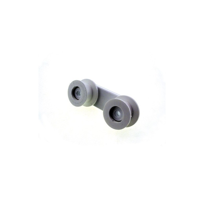 50226819006 Dishwasher basket wheel and support (Zanussi, Electrolux)