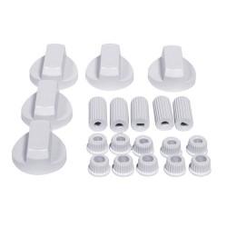 Oven Knob Kit White (Universal)