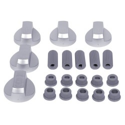 Oven Knob Kit silver (Universal)