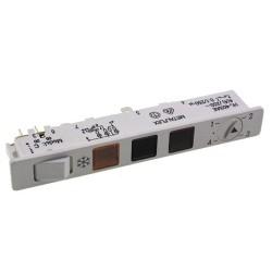 Ohjauspaneli pakastimelle yleismallinen METALFLEX (HL403AEC - MOD. K)