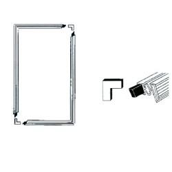 Jääkaapin/Pakastimen Oven tiiviste magneetilla (2000mm X 1000mm)