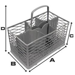 Smeg Cutlery Basket (230mm...