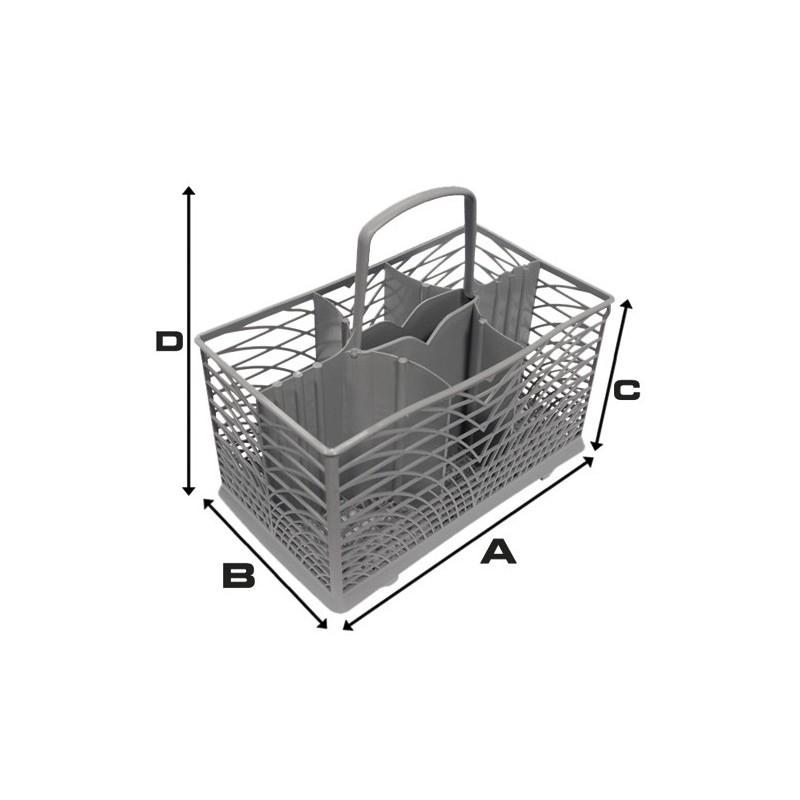 Smeg Cutlery Basket (230mm x 140mm x 130mm x 210mm)