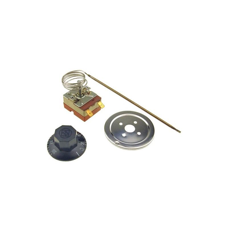 Uunin Termostaatti 50 C - 300 C astetta + Nuppi (Universaali)