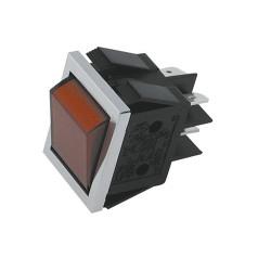 Pienlaitteen Virtakytkin On/Off + punainen merkkivalo (22mm X 30mm)