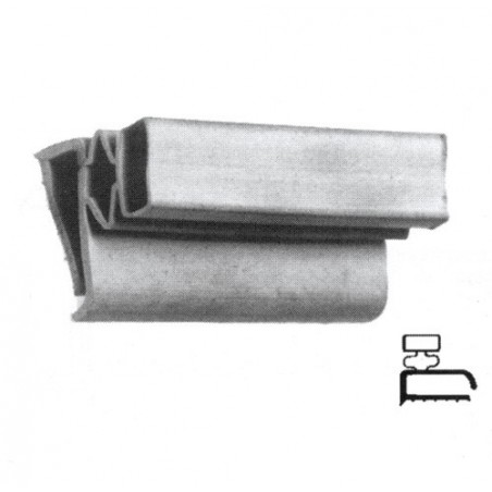 Jääkaapin/Pakastimen Ovitiiviste, leikattava (2 m)