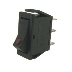 Virtakytkin merkkivalolla (11mm X 30mm)