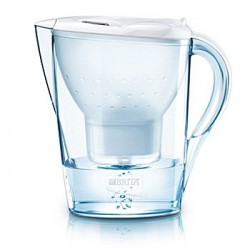 BRITA Marella White 2.4 l + 1 cartridge, white