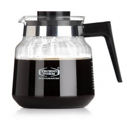 Moccamaster Glass Jug 1,25 l Black (with lid)