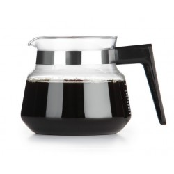 Moccamaster Glass Jug 1 L, black with lid