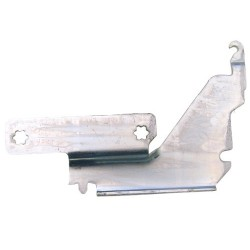 Door hinge for WHIRLPOOL, WHIRLPOOL BAUKNECHT dishwasher (481241718774)