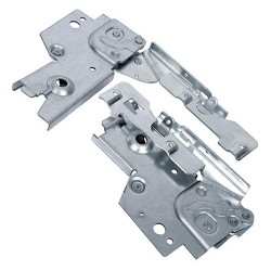 Door hinges for ELECTROLUX dishwasher (50286356006, 50282839005, 50286140004)