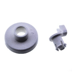 Basket Wheel kit for dishwasher (BOSCH SIEMENS 066320, WHIRLPOOL 481252878026, 481952888069, MERLONI HOTPOINT 7028020)